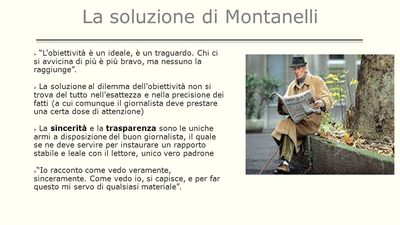 La soluzione di Montanelli