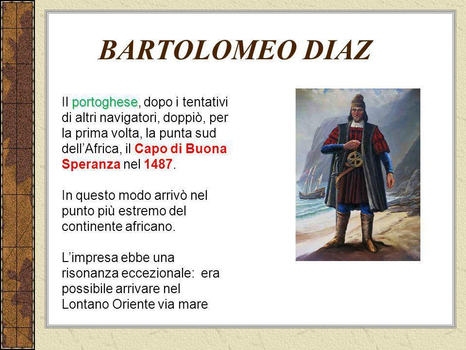 BARTOLOMEO DIAZ