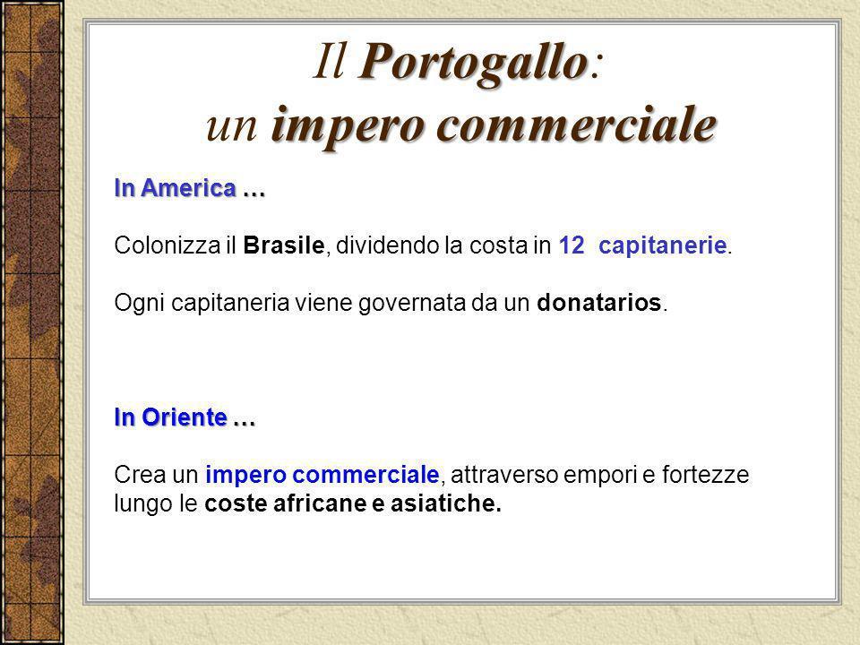 Il Portogallo: un impero commerciale