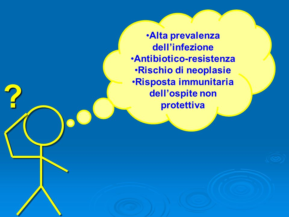 Alta prevalenza dell'infezione Antibiotico-resistenza