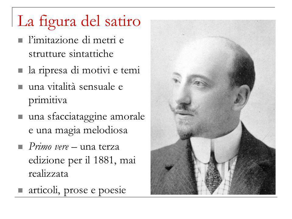 La figura del satiro l'imitazione di metri e strutture sintattiche