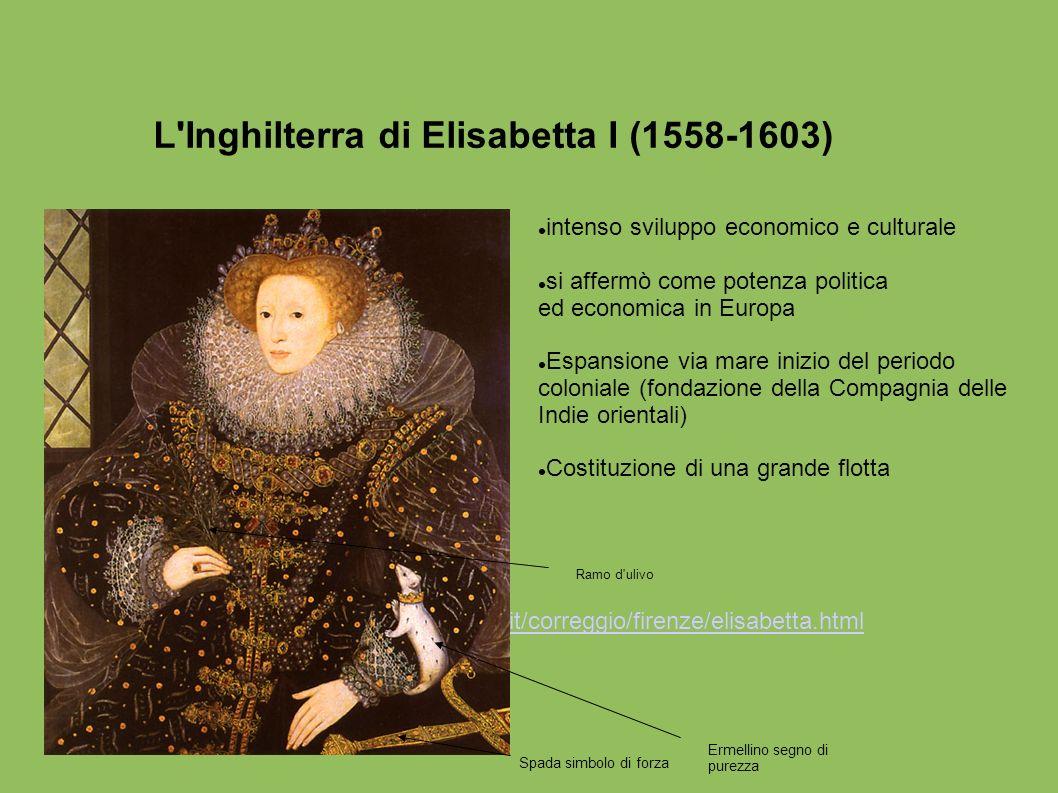 L Inghilterra di Elisabetta I (1558-1603)