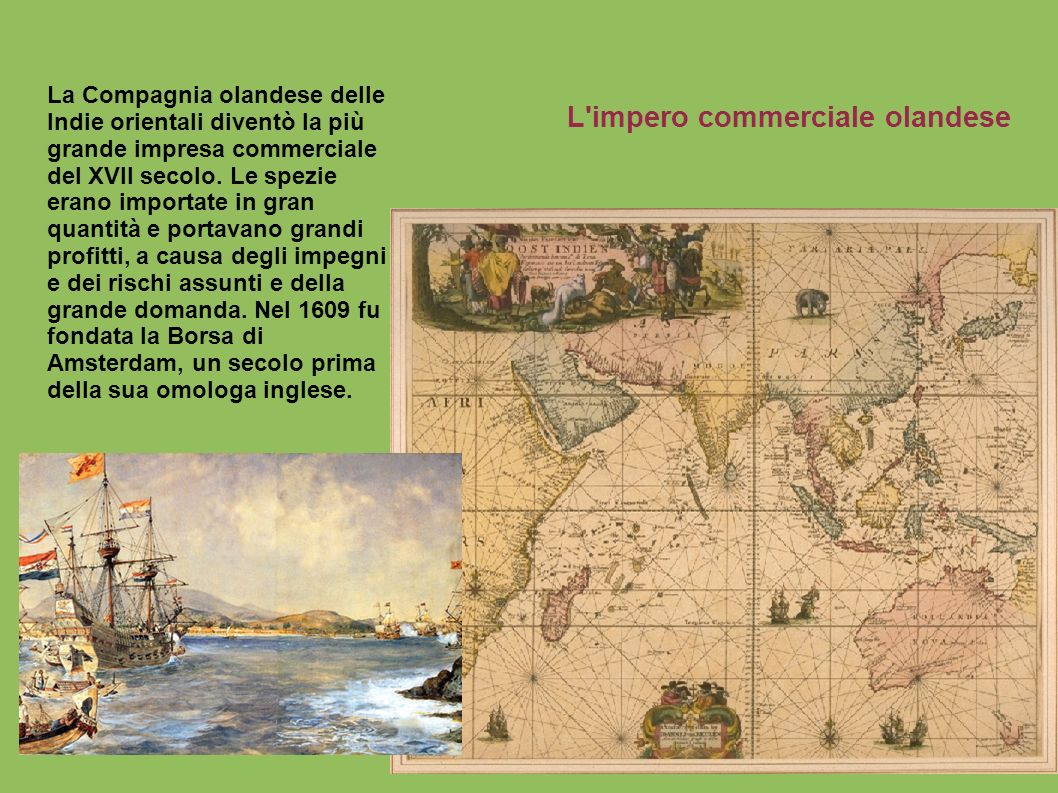 L impero commerciale olandese