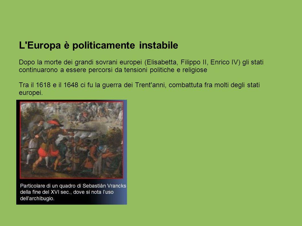 L Europa è politicamente instabile