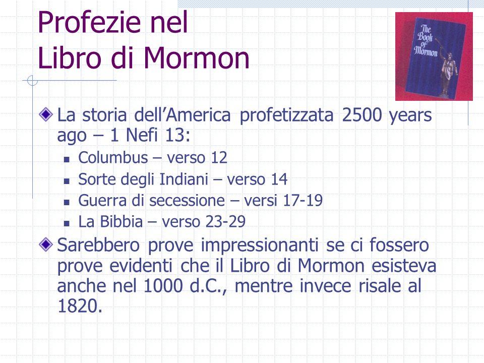 Profezie nel Libro di Mormon