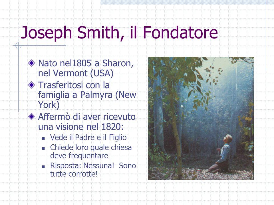 Joseph Smith, il Fondatore