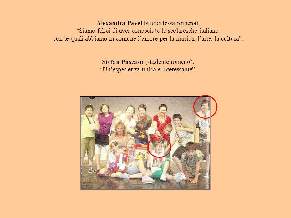 Alexandra Pavel (studentessa romena):