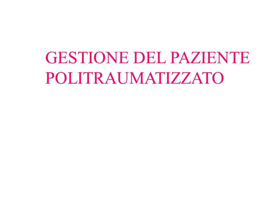 GESTIONE DEL PAZIENTE POLITRAUMATIZZATO