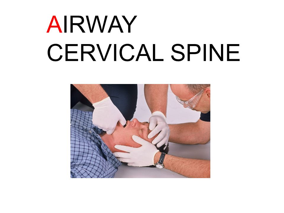 AIRWAY CERVICAL SPINE