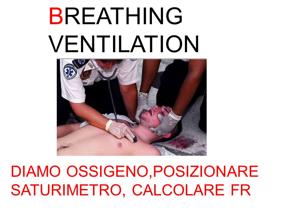 BREATHING VENTILATION
