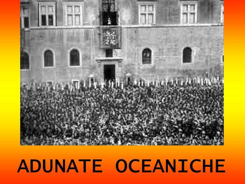 ADUNATE OCEANICHE