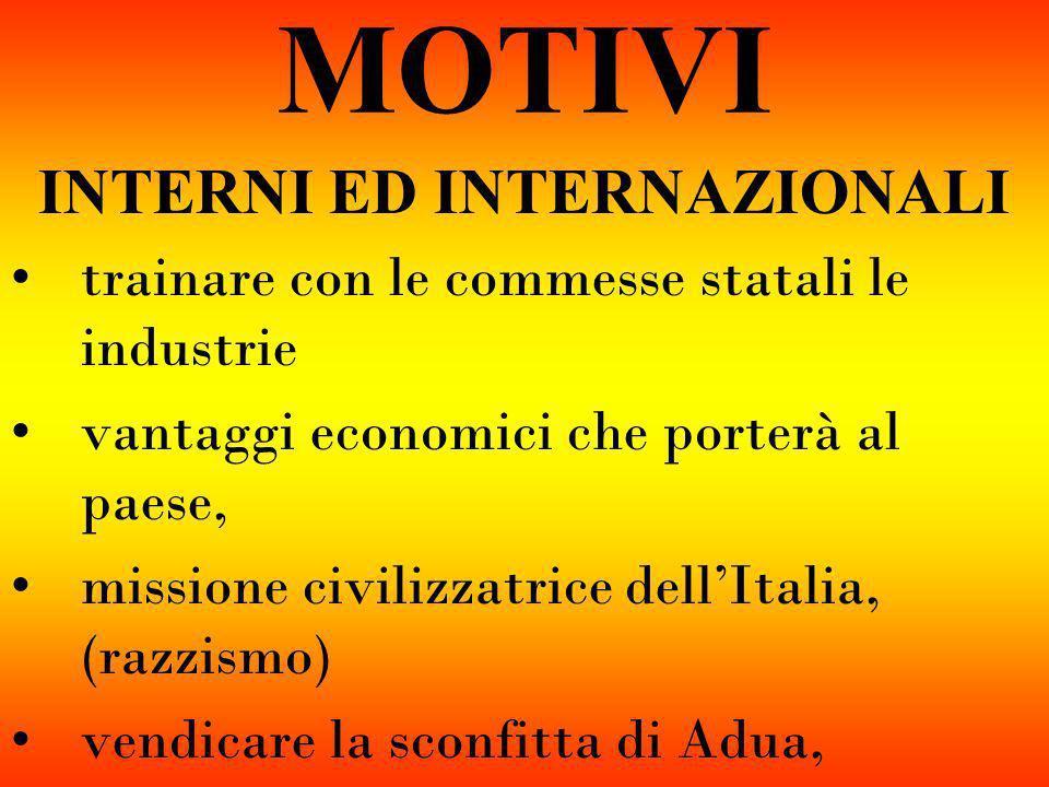 INTERNI ED INTERNAZIONALI