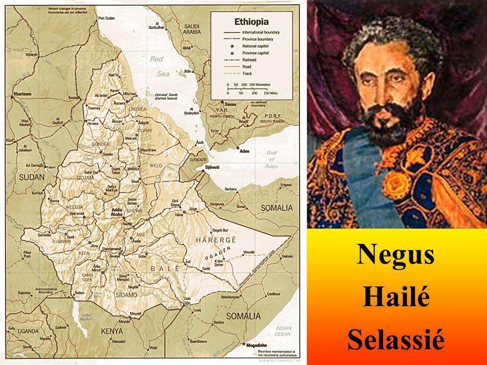 Negus Hailé Selassié