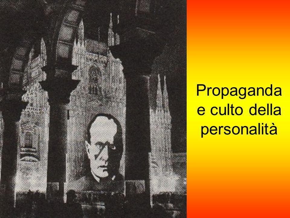 Propaganda e culto della personalità