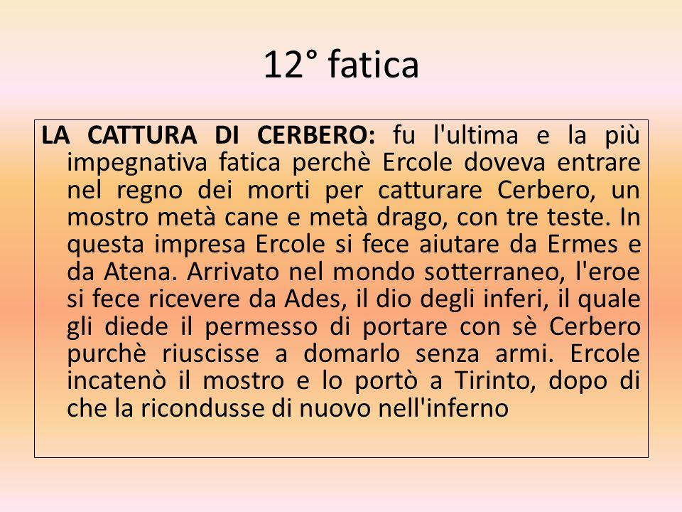 12° fatica
