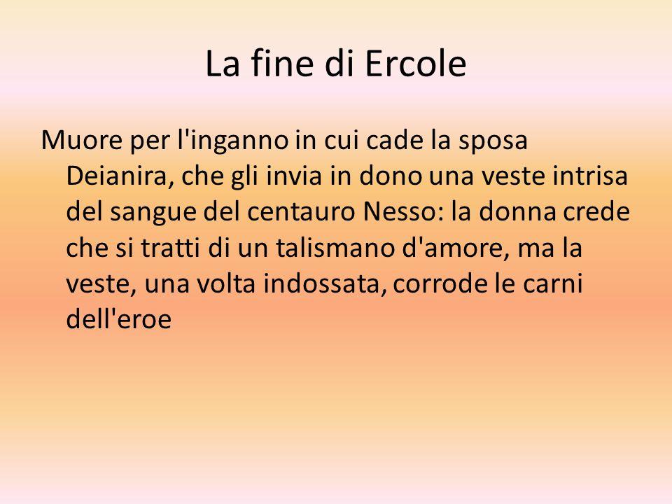 La fine di Ercole