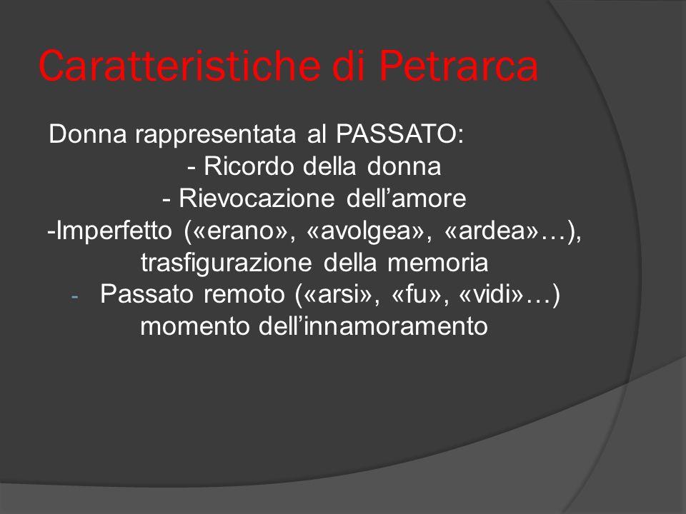 Caratteristiche di Petrarca