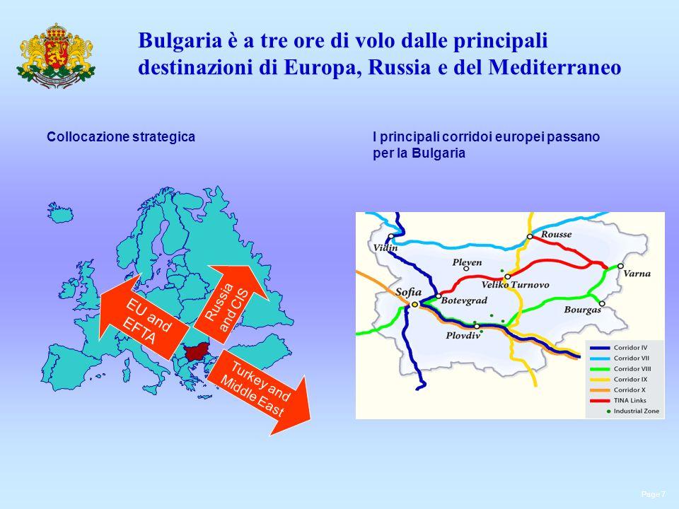 Bulgaria è a tre ore di volo dalle principali destinazioni di Europa, Russia e del Mediterraneo