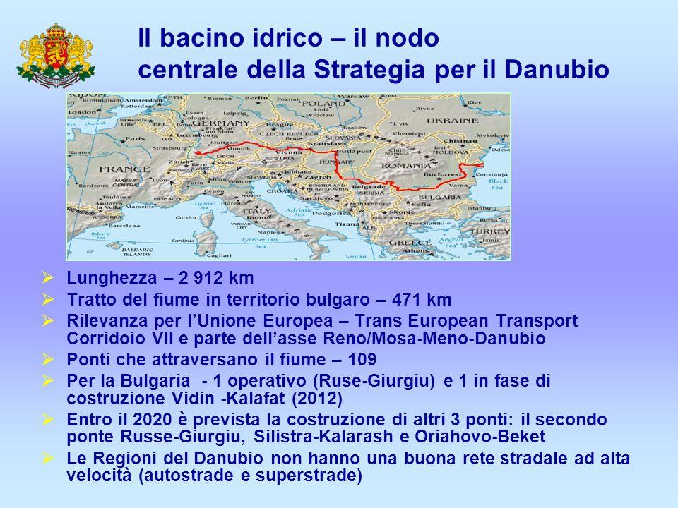 Il bacino idrico – il nodo centrale della Strategia per il Danubio