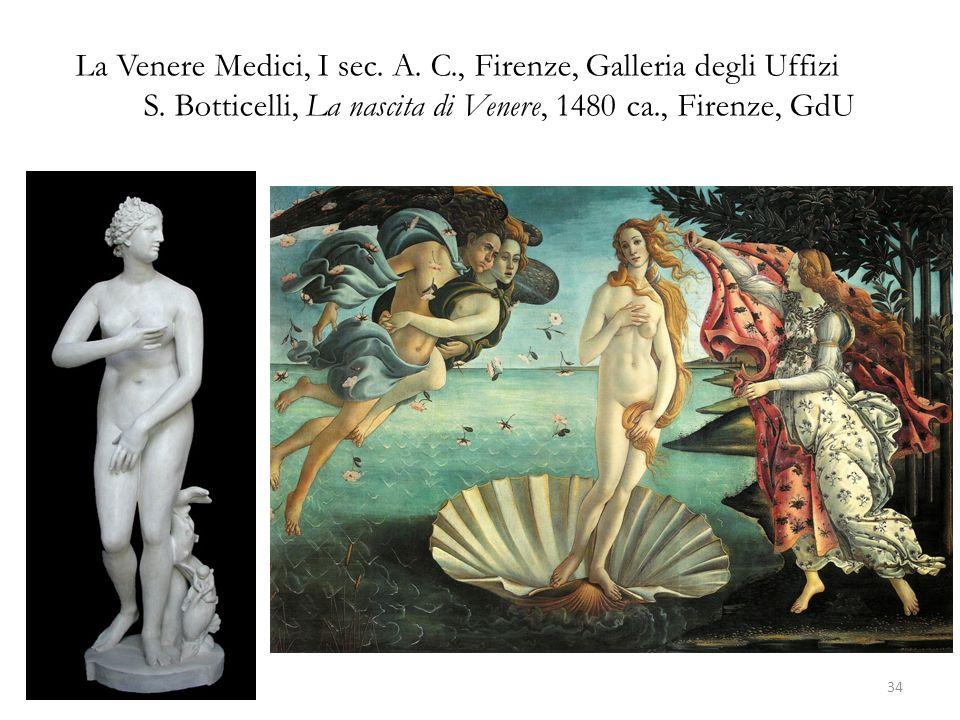 La Venere Medici, I sec. A. C. , Firenze, Galleria degli Uffizi S