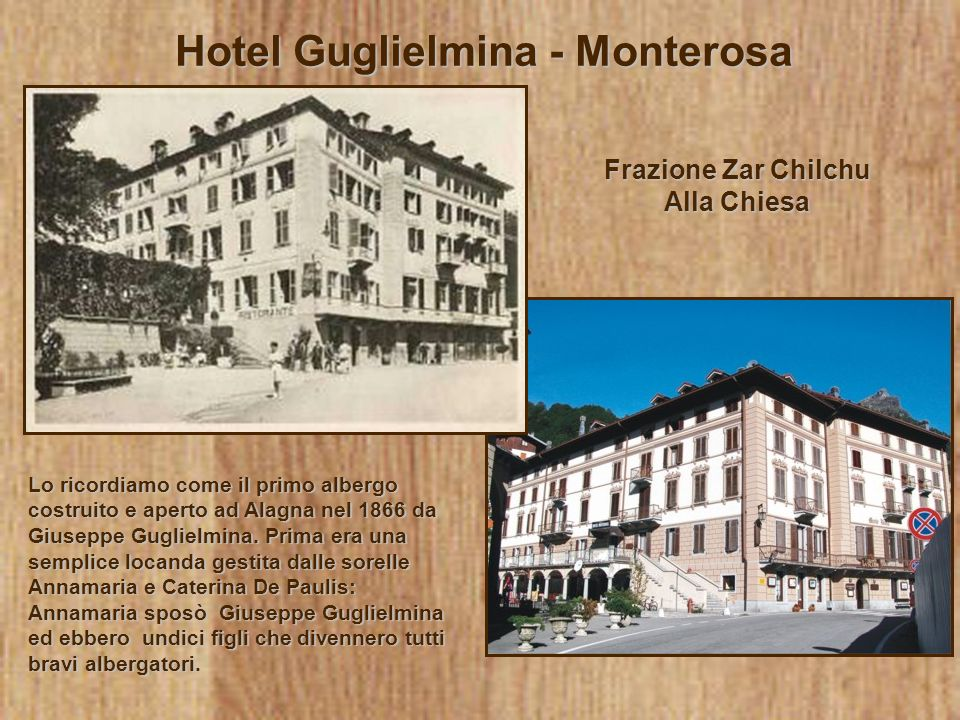 Hotel Guglielmina - Monterosa