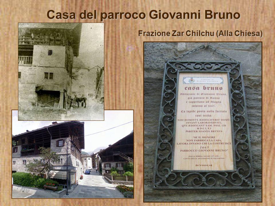Casa del parroco Giovanni Bruno