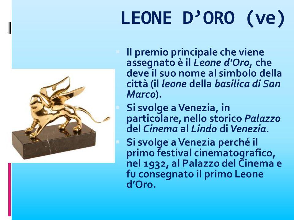 LEONE D'ORO (ve)