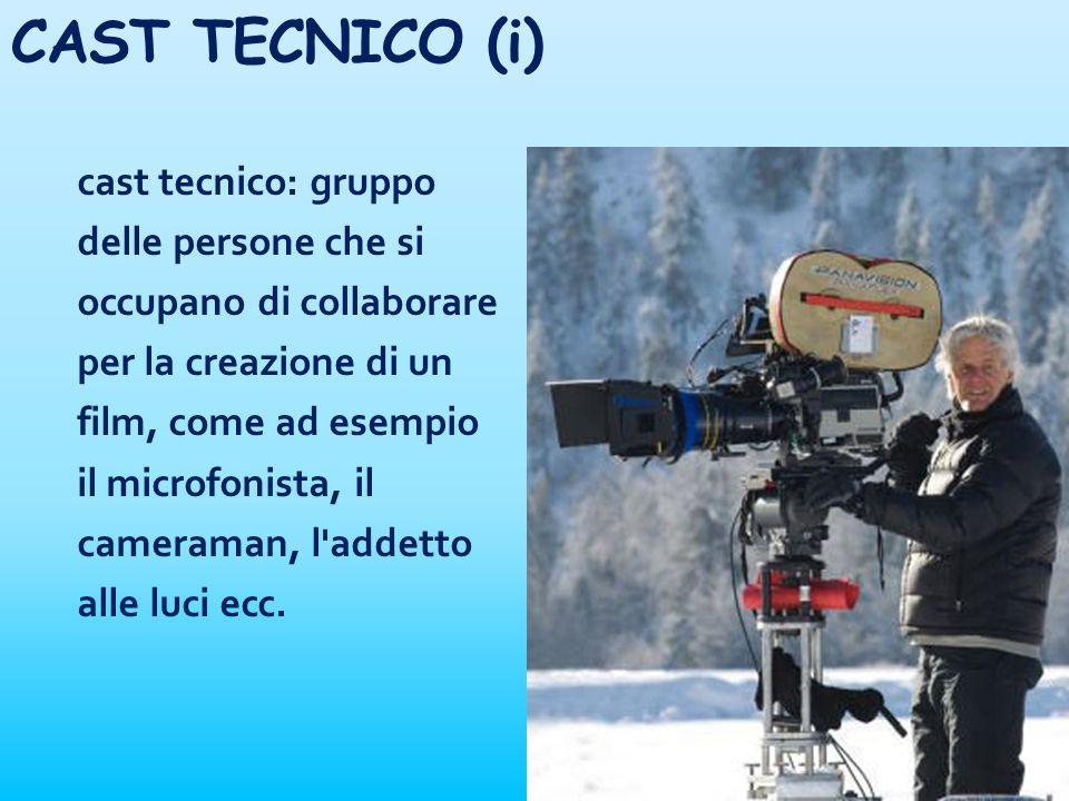CAST TECNICO (i)