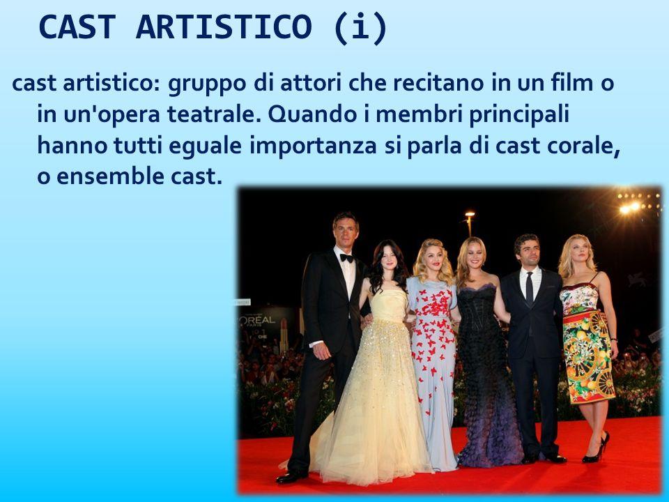 CAST ARTISTICO (i)