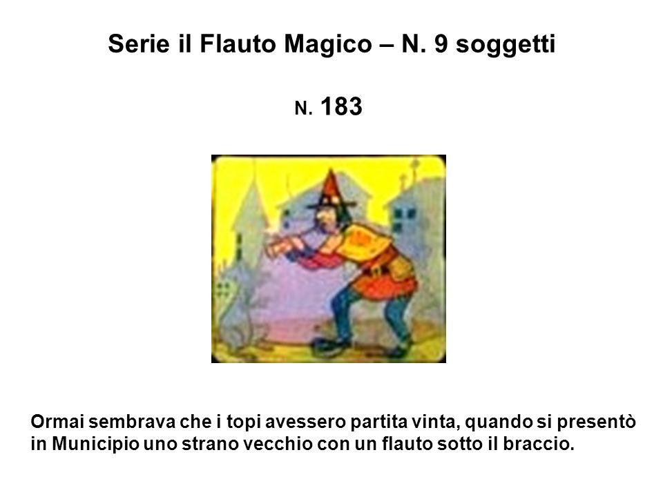 Serie il Flauto Magico – N. 9 soggetti