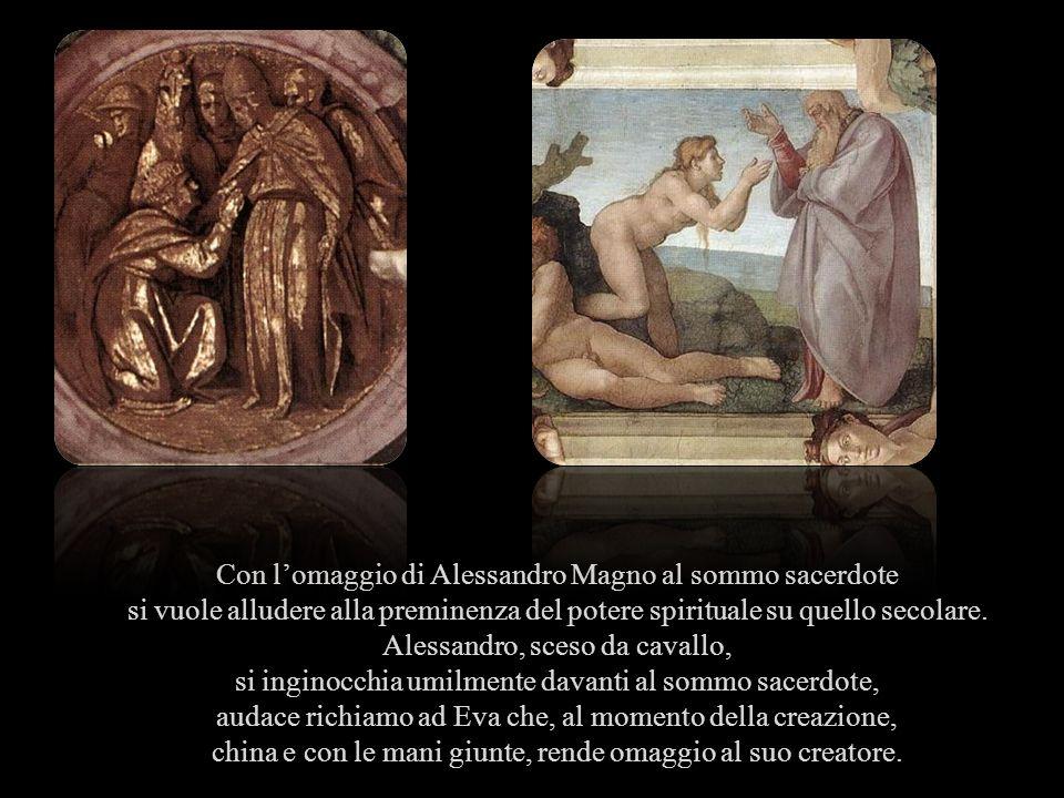Con l'omaggio di Alessandro Magno al sommo sacerdote