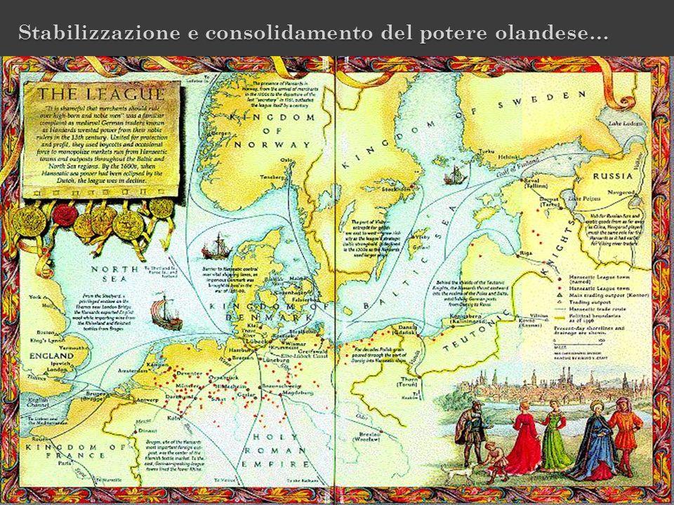 Stabilizzazione e consolidamento del potere olandese…