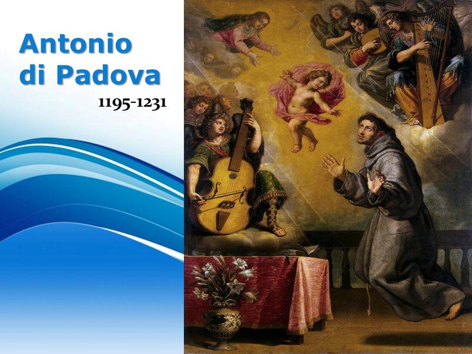 Antonio di Padova 1195‑1231 Free Powerpoint Templates