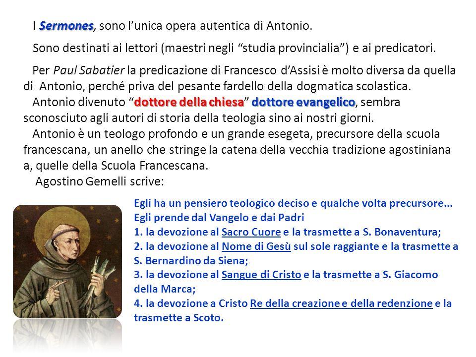 I Sermones, sono l'unica opera autentica di Antonio.