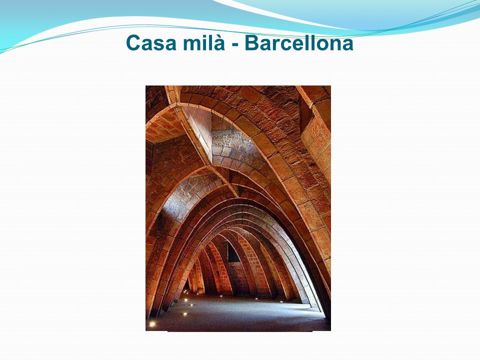 Casa milà - Barcellona
