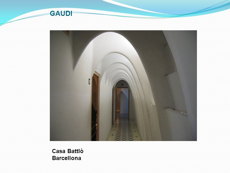 GAUDI Casa Battlò Barcellona