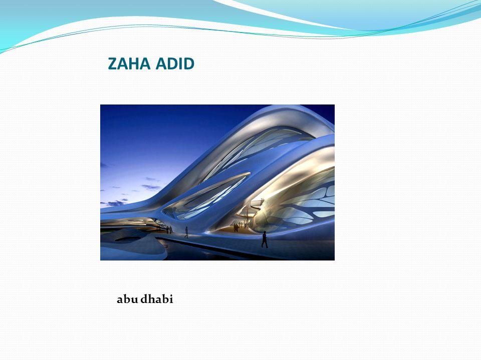 ZAHA ADID abu dhabi