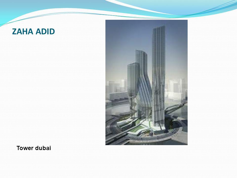 ZAHA ADID Tower dubai