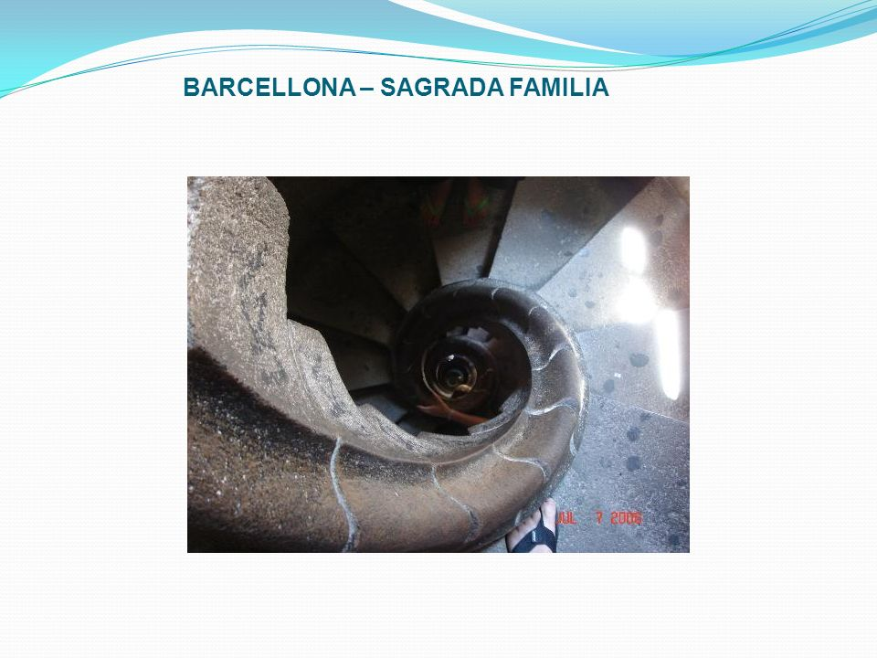 BARCELLONA – SAGRADA FAMILIA