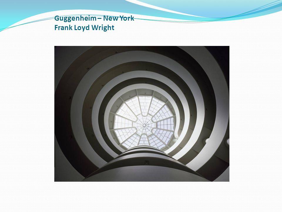 Guggenheim – New York Frank Loyd Wright
