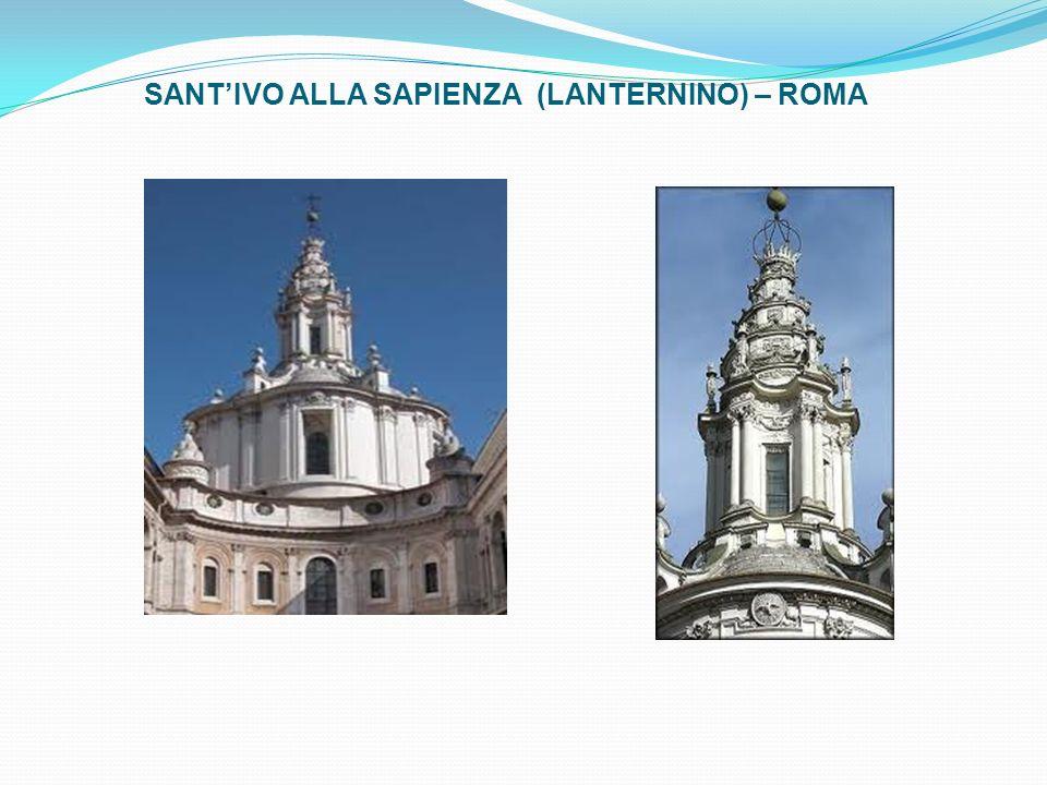 SANT'IVO ALLA SAPIENZA (LANTERNINO) – ROMA