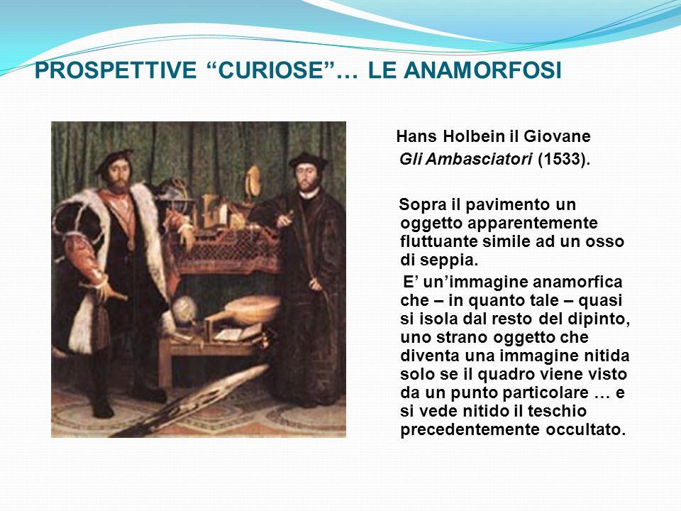 PROSPETTIVE CURIOSE … LE ANAMORFOSI