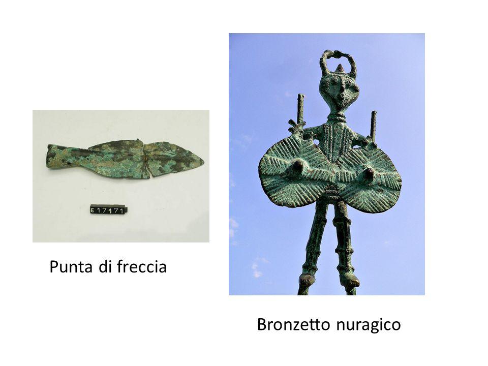 Punta di freccia Bronzetto nuragico