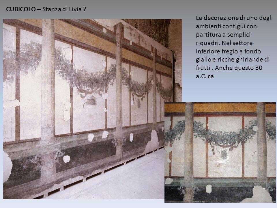 CUBICOLO – Stanza di Livia