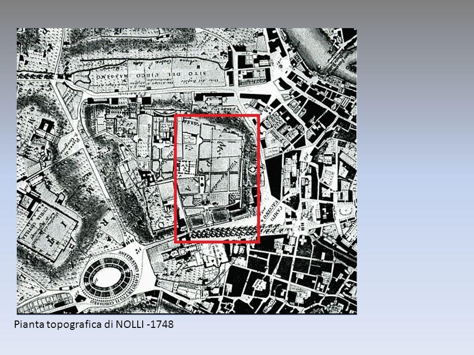 Pianta topografica di NOLLI -1748