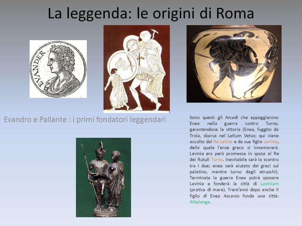 La leggenda: le origini di Roma