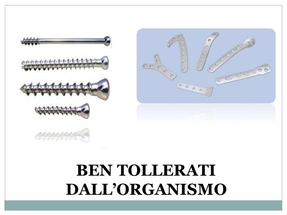 BEN TOLLERATI DALL'ORGANISMO