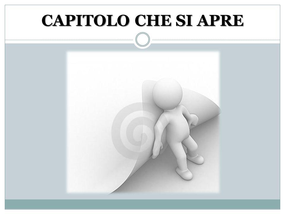 CAPITOLO CHE SI APRE