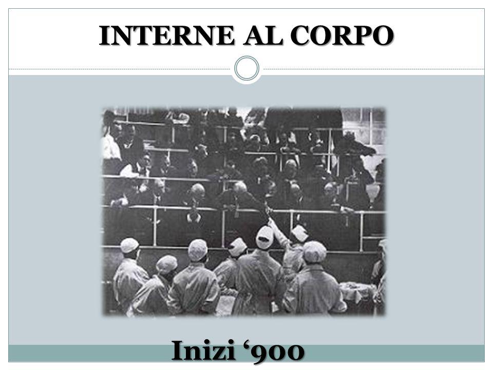 INTERNE AL CORPO Inizi '900