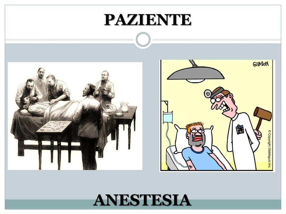 PAZIENTE ANESTESIA
